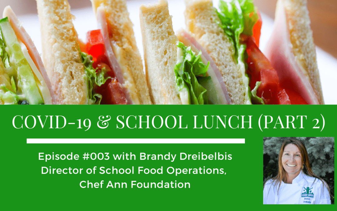 Episode 003: COVID-19 & School Lunch (Part 2)