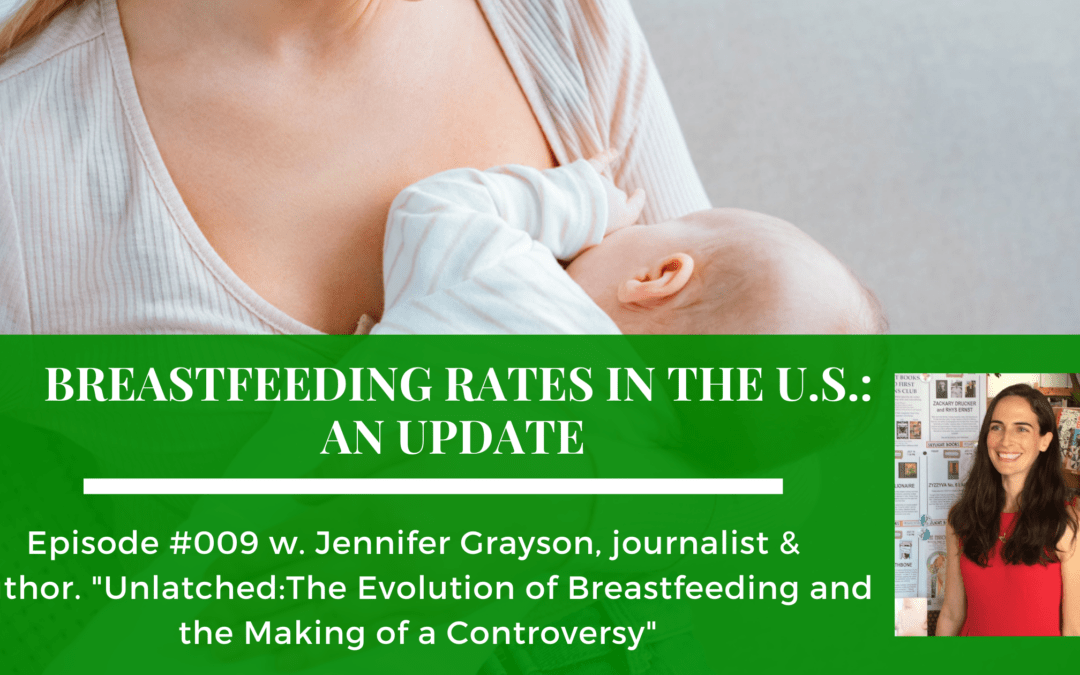 Breastfeeding Rates in the U.S. on the Food Issues podcast