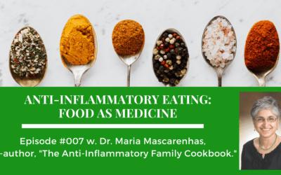 Episode 007: Anti-Inflammatory Eating: Food As Medicine